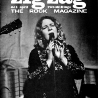 Sandy graced the cover of the very first edition of music magazine Zig Zag