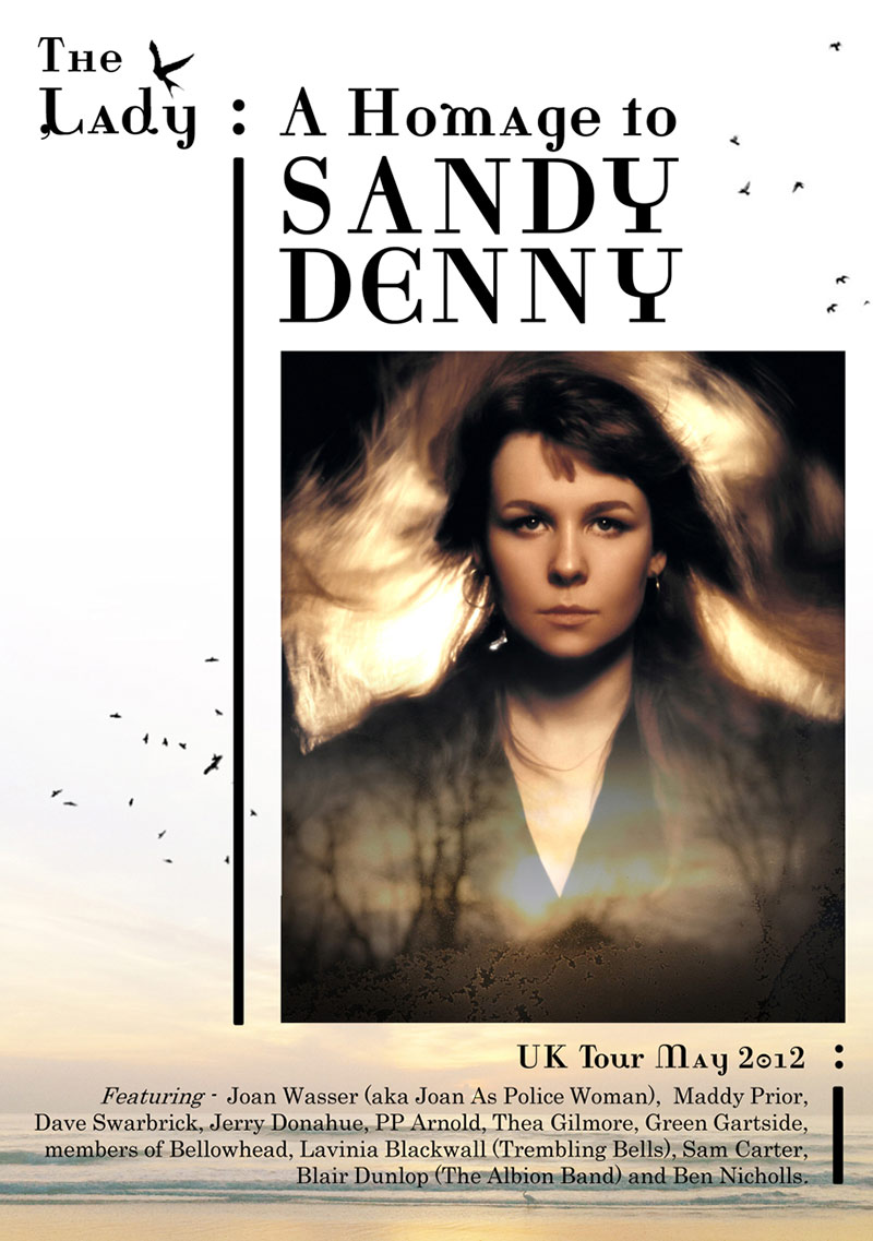 The Lady: A Homage to Sandy Denny UK Tour May 2012